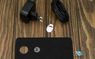 Motorola Moto Z Play: обзор технических характеристик