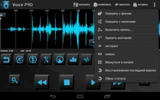 Voice PRO— HQ Audio Editor 3.3.22