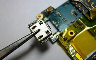 Сколько в среднем стоит ремонт гнезда зарядки телефона