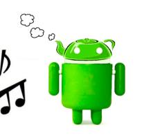 Как поменять рингтон (музыку на звонке) на телефоне на базе Андроид?