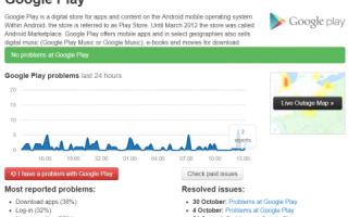 Как починить Google Play, если он перестал работать?