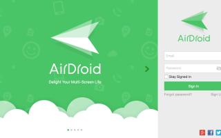 AirDroid и другие приложения для управления смартфонами через ПК