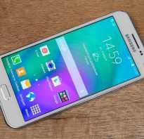 Обзор смартфона Samsung Galaxy E5