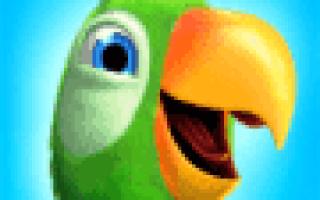 Скачать Говорящий попугай Пьер на Андроид
