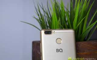 Обзор BQ-5005L Intense. Недорогой смартфон с емкой батаерейкой