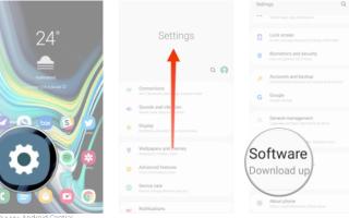 Обновление телефона самсунг. Как обновить программное обеспечение на Samsung Galaxy.