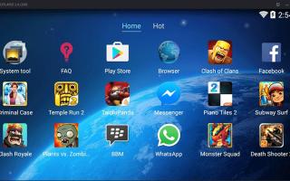 ТОП-7 лучших эмуляторов Android на ПК для слабых компьютеров
