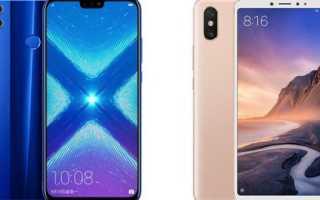 Xiaomi Mi Max 3 против Honor 8X Max — сравнительный тест смартфонов с самыми большими экранами