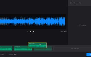Soundcut — здесь можно обрезать и склеить несколько треков!