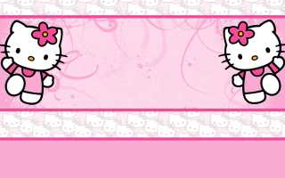 Hello Kitty Wallpapers (30 Wallpapers)